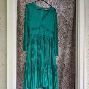 ASOS Green Midi Dress